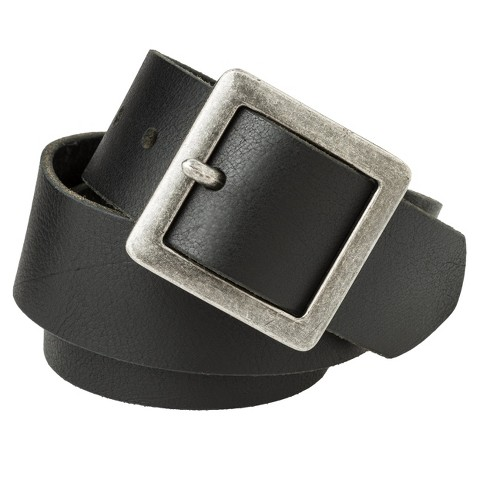 Mossimo Supply Co. Pilgrim Buckle Belt - Black