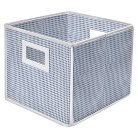 Badger Basket Folding Basket and Storage Cube in Blue