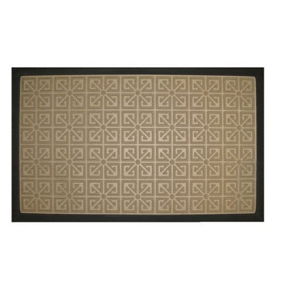 "MOHAWK HOME WATER MASTER SHAMROCK DOORMAT - GLASS (1'.5""X2'.5"")"