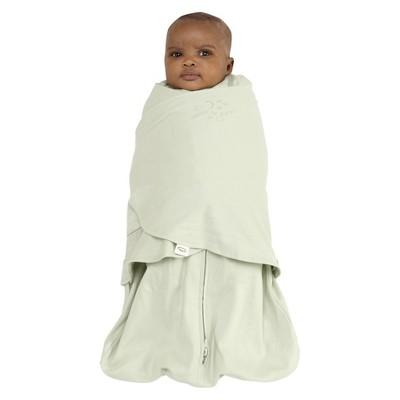 HALO SleepSack 100% Cotton Wearable Blanket - Sage - Medium