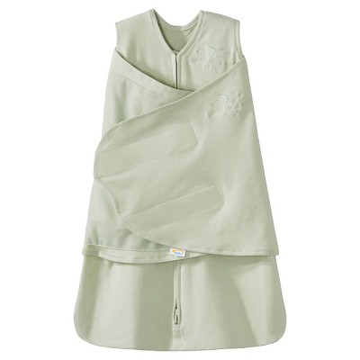 HALO SleepSack 100% Cotton Swaddle - Sage - Newborn
