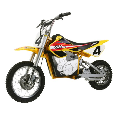 Razor® MX650 Electric Dirt Bike Yellow