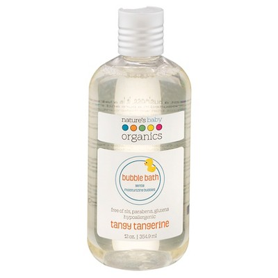 Nature's Baby Organic Bubble Bath Tangy Tangerine