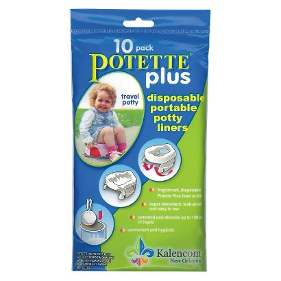 Kalencom Potette Plus Liner Re-Fills 4-pack (40 Count Total)