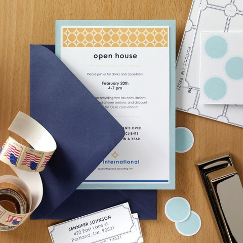 Invitation Kit with Envelopes and Seals