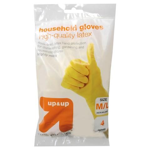 up & up™ Gloves - Large - 2 pack