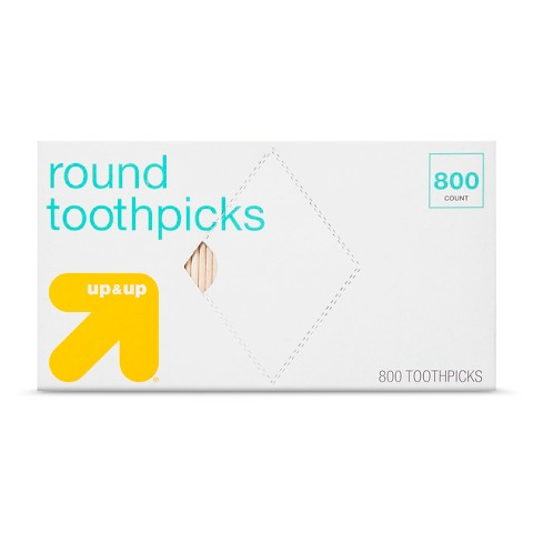 up & up™ Round Toothpicks - 800 Count