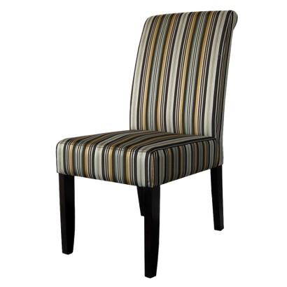Avington Dining Chair Set of 2 - Stripe