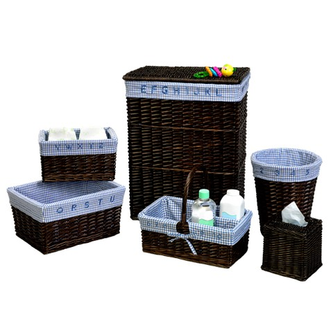 Baby's Learn and Store 6-pc. Hamper Set Blue