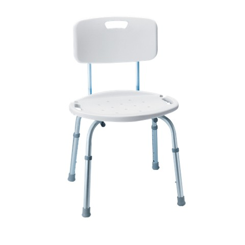 carex adjustable bath and shower seat white target