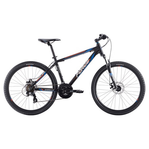 "Forge Mens Sawback 5xx 17"" Mountain Bike - Red"