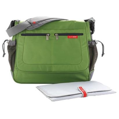 Skip Hop Via Tech Messenger Diaper Bag Lime
