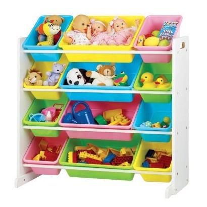 Tot Tutors Pastel Toy Organizer