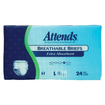 Attends® Breathable Briefs Extra Absorbent