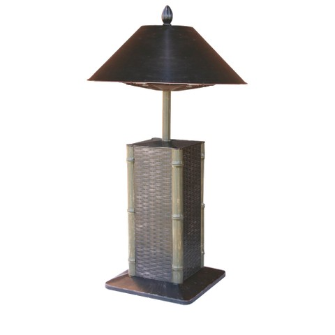 Endless Summer Electric Heater Table Lamp - Sumatra