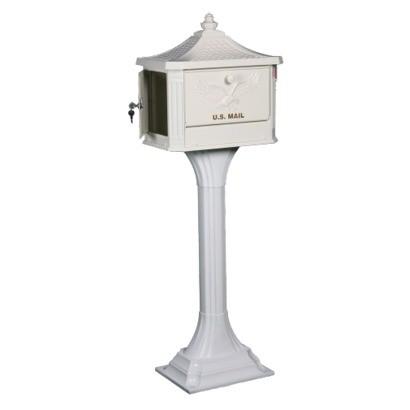 Gibraltar - Cast Aluminum Pedestal Mailbox