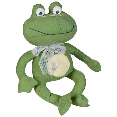Nojo Jungle Babies Freddie The Frog Stuffed Animal