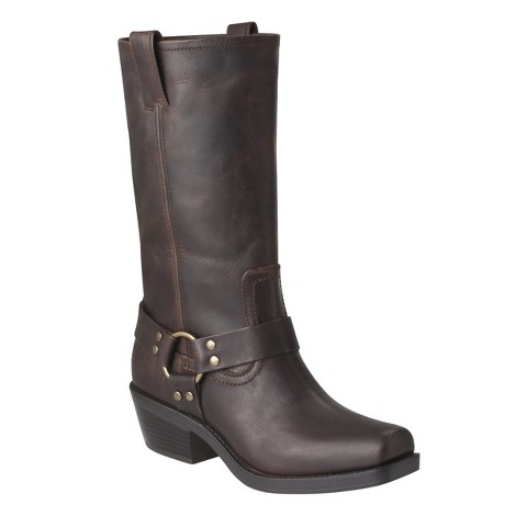 Women's Mossimo Supply Co. Katherine Genuine Leather Engineer Boot - Assorted Colors