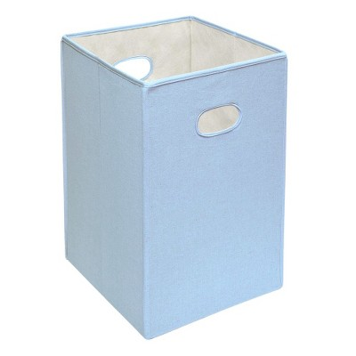 Badger Basket Folding Hamper Blue