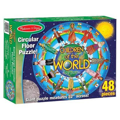 Melissa & Doug® Children Around the World Floor 48-Piece Floor Puzzle