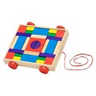 Melissa & Doug® Doug Unit Blocks on Wheels