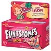 Flintstones Iron and Multivitamin Tablets for Children - 60 Count