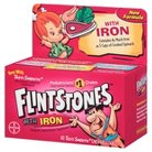 Flintstones Children's MultiVitamin Supplement With Iron Chewable Tablets - 60 Count
