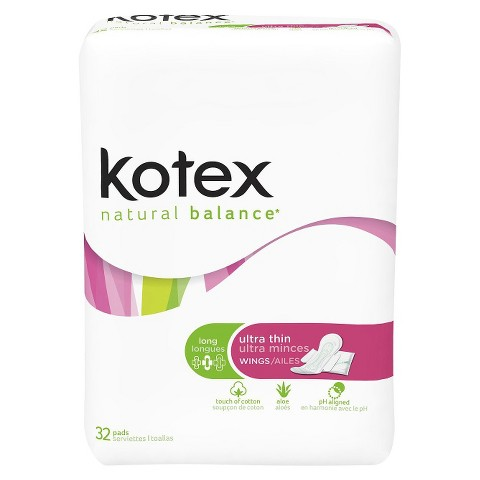 Kotex® Ultra Thin Regular Pads With Wings