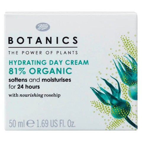 Boots Botanics Organic Hydrating Day Cream - 1.69 oz