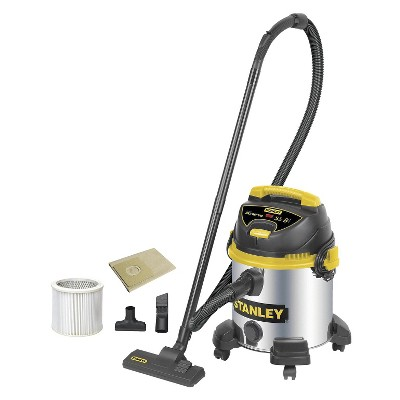 Stanley 8 Gallon Wet/Dry Vacuum - Silver