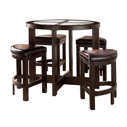5 Piece Counter Height Set - Espresso