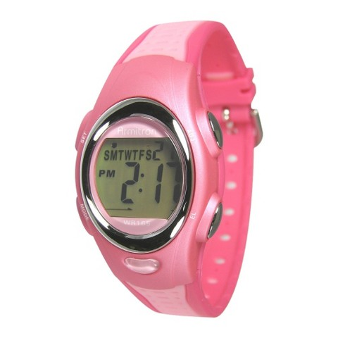 "Women's Armitron Dual - Colored Sport Watch - Pink ( 8.5"" )"