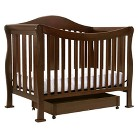 DaVinci Parker 4 in 1 Crib with Toddler Rail in Coffee