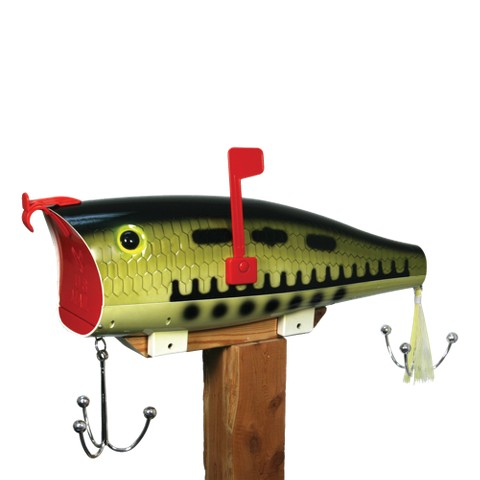 Rivers Edge Baby Bass Lure Mailbox