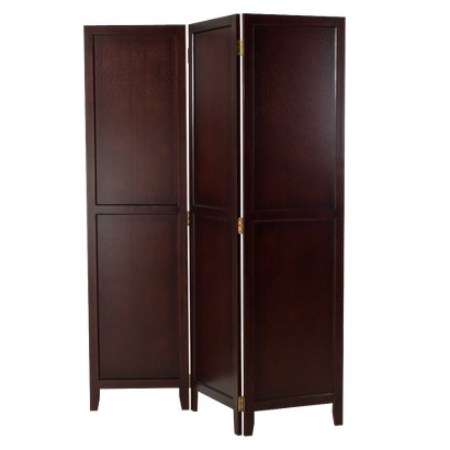 Linon Dolce Screen - Dark Walnut