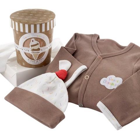 """Baby Aspen """"Sweet Dreamzzz"""" A Pint of PJ's Sleep-Time Gift Set-  0-6 months"""