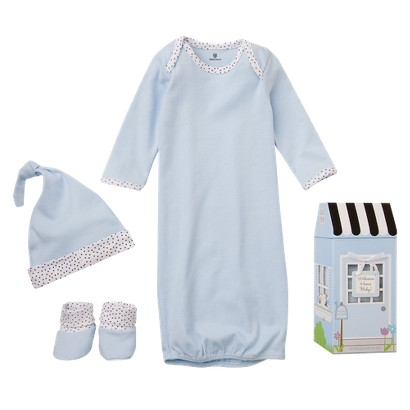 """Baby Aspen""""Welcome Home Baby!"""" 3-Piece Layette Set- 0-6 months"""