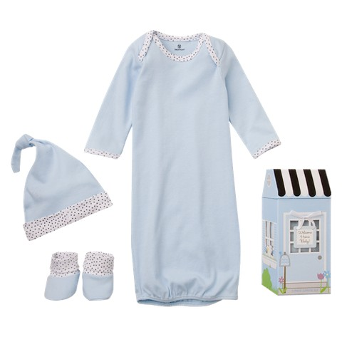 "Baby Aspen""Welcome Home Baby!"" 3-Piece Layette Set- 0-6 months"