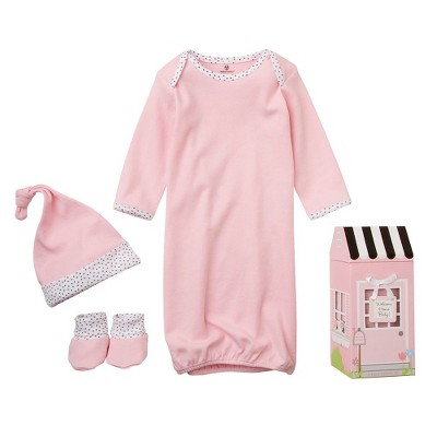 "Baby Aspen ""Welcome Home Baby!"" 3-Piece Layette Set-  0-6 months"