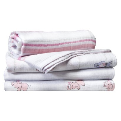 ADEN® BY ADEN + ANAIS® FOR TARGET ,  SWADDLEPLUS® 4-PACK, JILLAROO