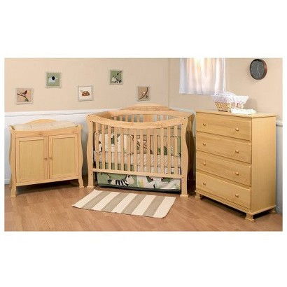 Nursery Furniture : DaVinci Parker Nursery Furniture Collection - Natural