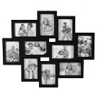 10-Opening Picture Frame - Black 4x6