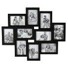"10-Opening Collage 4""x6"" Frame - Black"