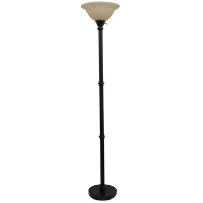 Threshold™ Torchiere Floor Lamp - Textured Bronze