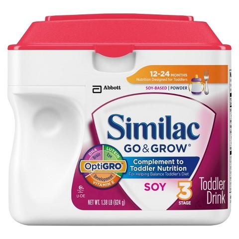 Similac® Go & Grow Soy Powder - 1.38lb