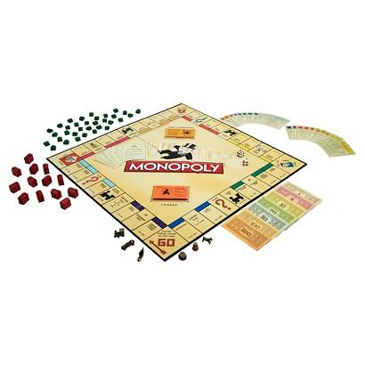 Hasbro Monopoly Vintage Book Game