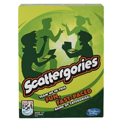 Hasbro® Scrabble Scattergories