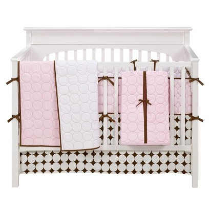 Bacati Baby Bedding Collection in Pink/Chocolate