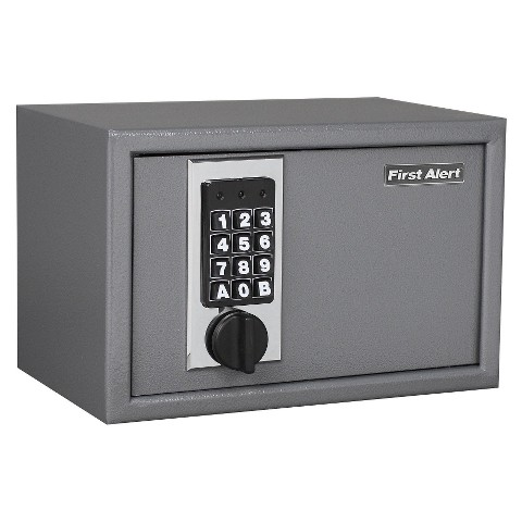 First Alert Anti-Theft Shelf Safe, 0.28 Cu. Ft.