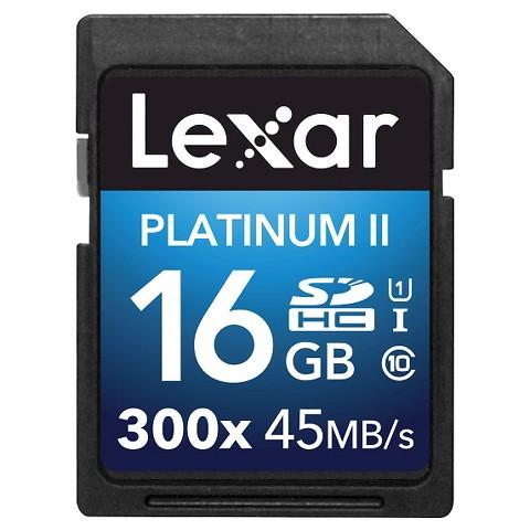 Lexar 16GB Full HD-Video SDHC Memory Card